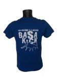 camiseta azul trasera