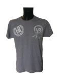 camiseta gris delantera