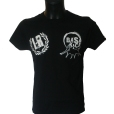 camiseta negra delantera