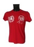 camiseta roja delantera