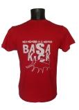 camiseta roja trasera
