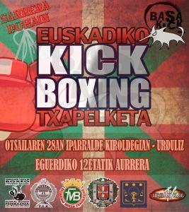 cto euskadi kick boxing 2015